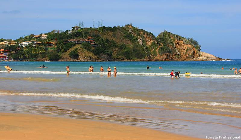Praia de Geribá em Búzios