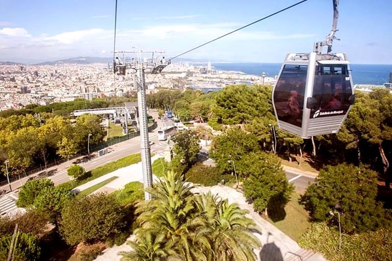 teleférico de Montjuic Barcelona