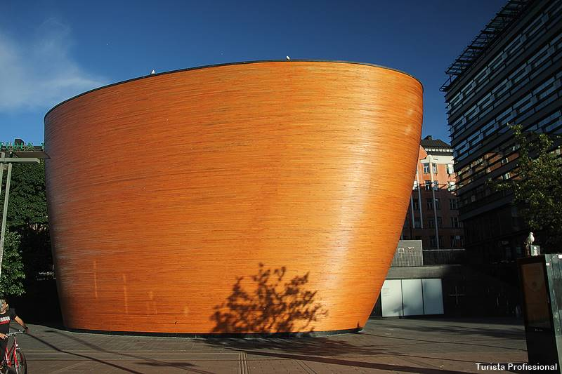 igreja do silêncio Helsinque