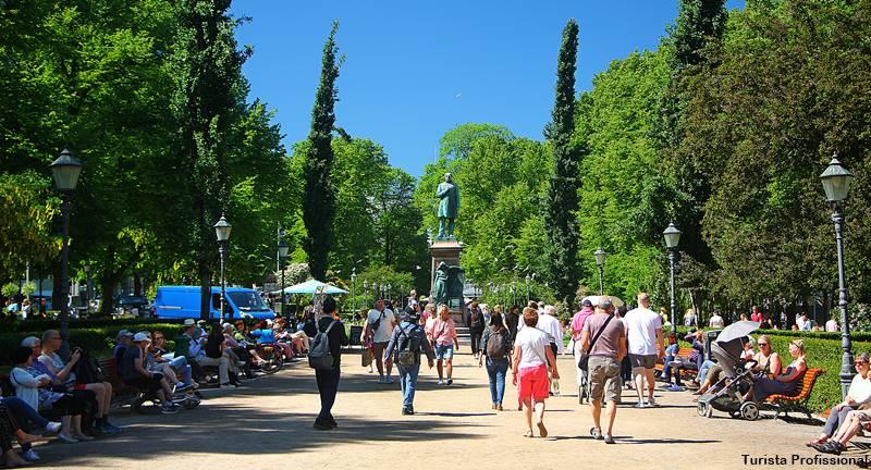 esplanadi park helsingi - O que fazer em Helsinki: principais pontos turísticos