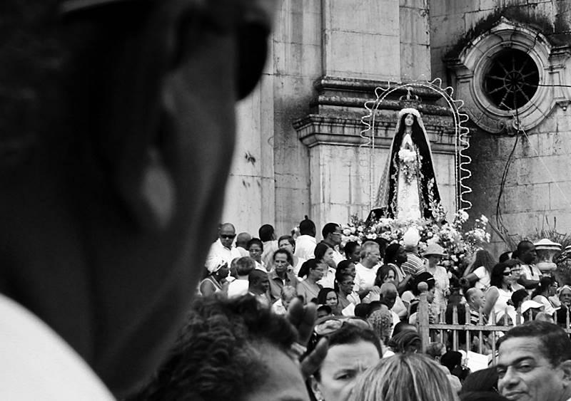 Missa para Nossa Senhora da Conceição da Praia em Salvador