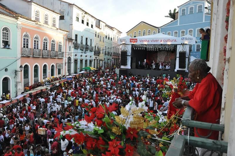 homenagem a iansa santa barbara - Festas em Salvador: quais as mais populares?