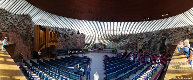 Igreja de Pedra de Helsinki