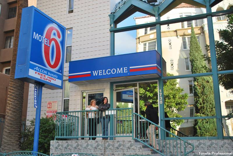 motel 6 hollywood - Dica de hotel em Hollywood