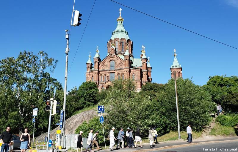 Igreja Ortodoxa em Helsinque
