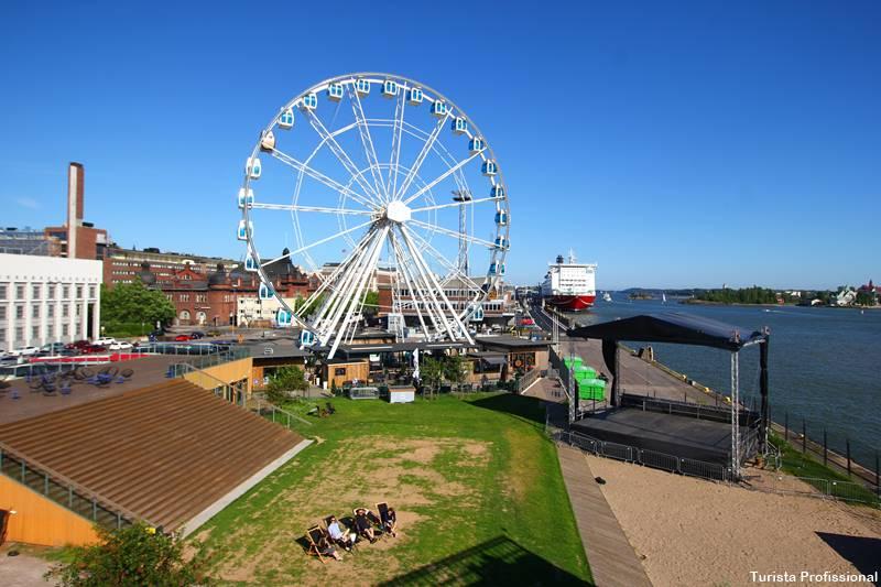 roda gigante na Finlândia