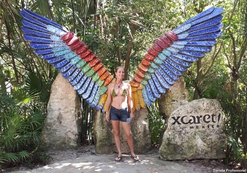 Borboletario do xcaret - Parque Xcaret em Cancún: o que fazer