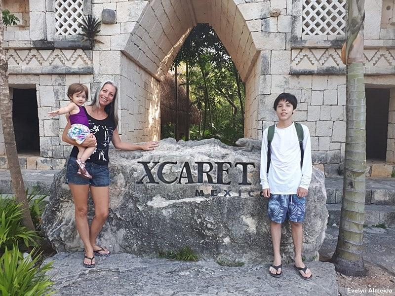 Entrada do Parque Xcaret - Parque Xcaret em Cancún: o que fazer
