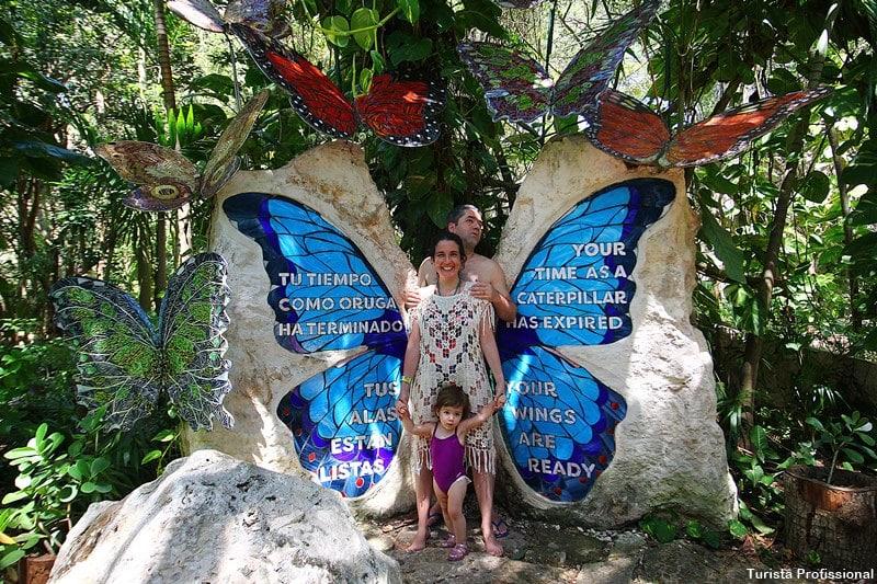 borboletario xcaret mexico - Parque Xcaret em Cancún: o que fazer