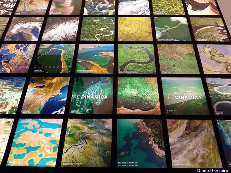 Exposição no Museu do Amanhã