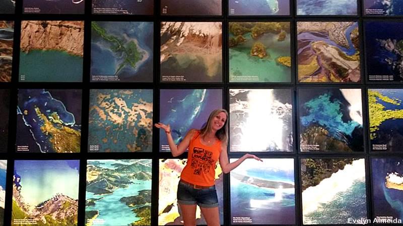 interior do museu do amanha - Visita ao Museu do Amanhã, no Rio de Janeiro