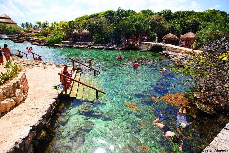 mergulho no xcaret - Parque Xcaret em Cancún: o que fazer