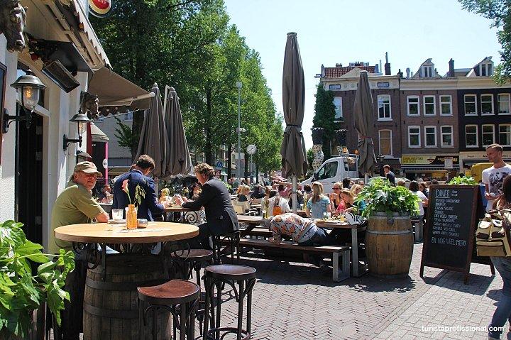 ruas em Amsterdam - O que fazer em Amsterdam: principais pontos turísticos