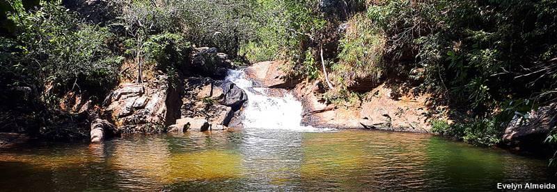 Cachoeira da Prainha na chapada - Roteiro pela Chapada dos Guimarães