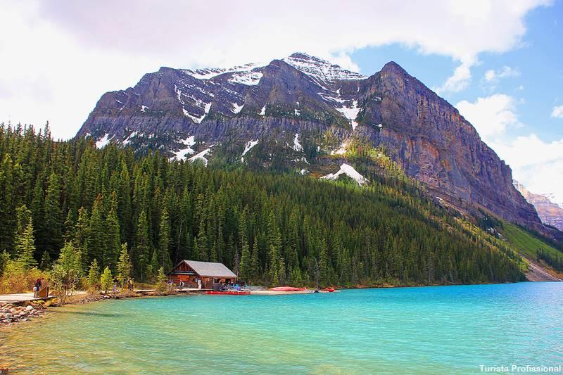 Lake Louise no verão