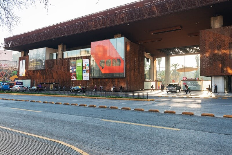 Lastarria Centro Cultural Gabriela Mistral - Bairros de Santiago do Chile