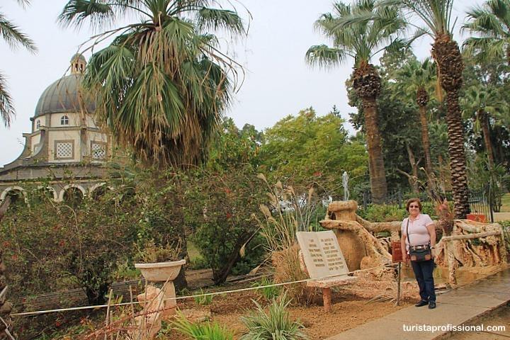 Monte das Beatitudes em Israel - Cidade de Cafarnaum, Israel: o que fazer e como chegar