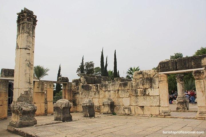 O que visitar em Cafarnaum - Milagres de Jesus em Israel: roteiro de viagem