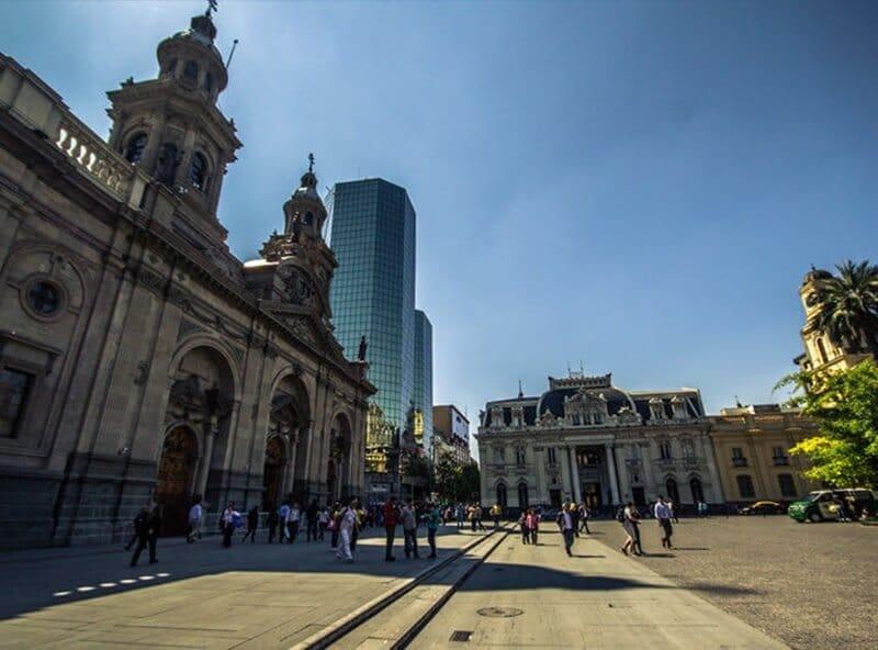 Praca Brasil Santiago 1 - Bairros de Santiago do Chile