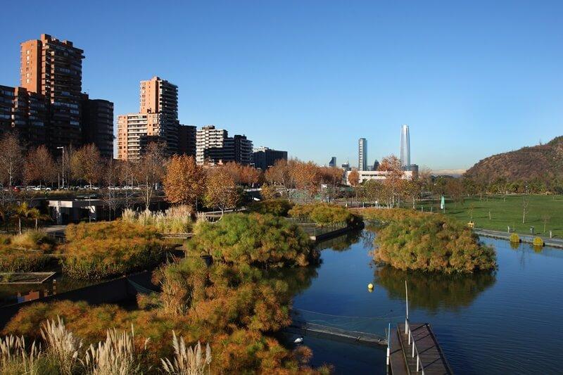 Santiago Parque Bicentenario - Bairros de Santiago do Chile