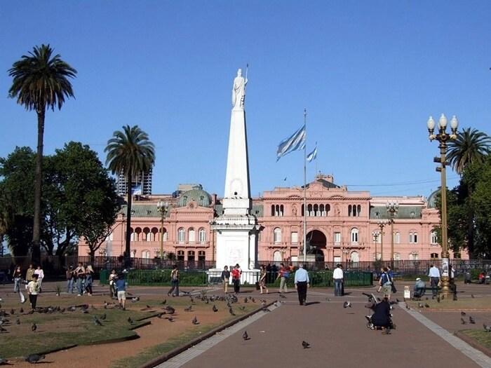 Praça de Maio em Buenos Aires
