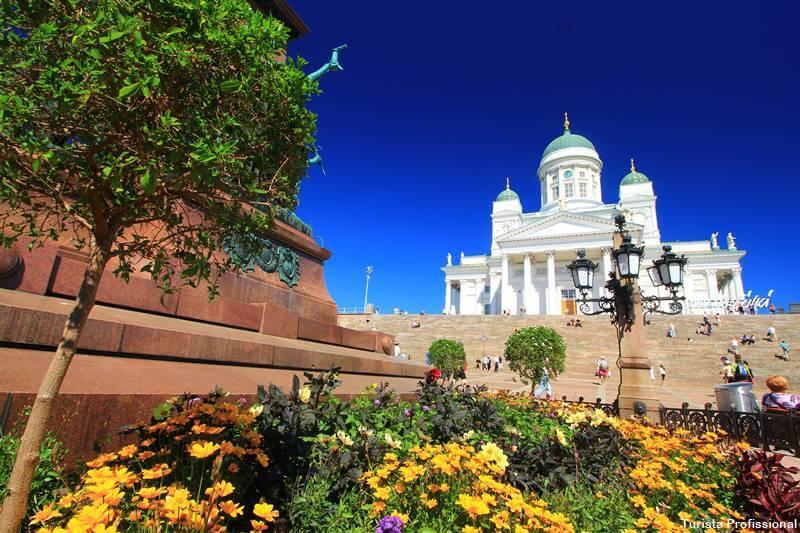 como é o clima em Helsinque