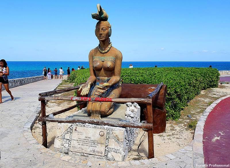 deusa Ixchel isla mujeres - Como chegar e o que fazer em Isla Mujeres