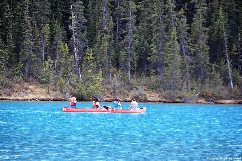 o que fazer no Lake Louise no verão