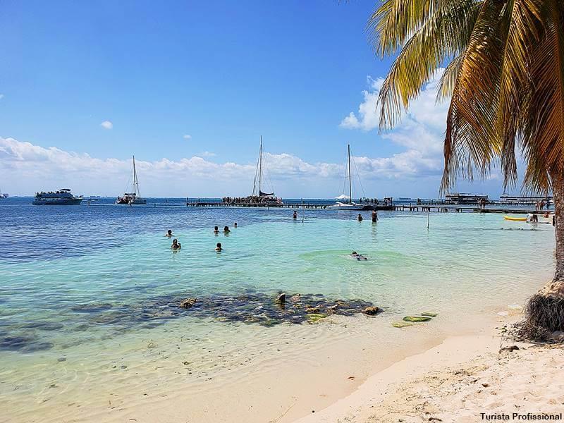 Praia em Isal Mujeres