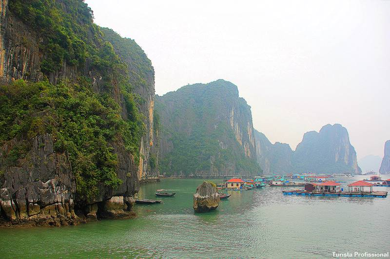 Baía de Halong no Vietnã