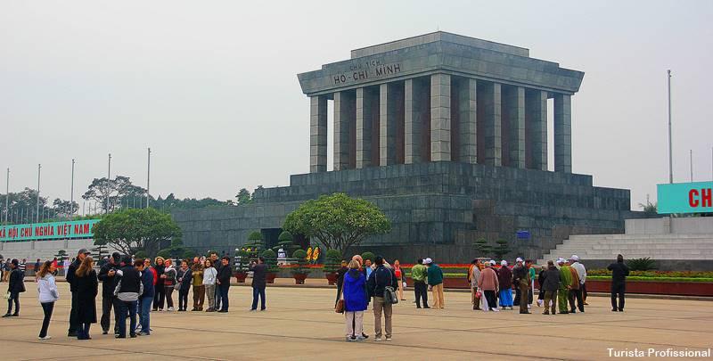Túmulo do Ho Chi Minh em Hanói