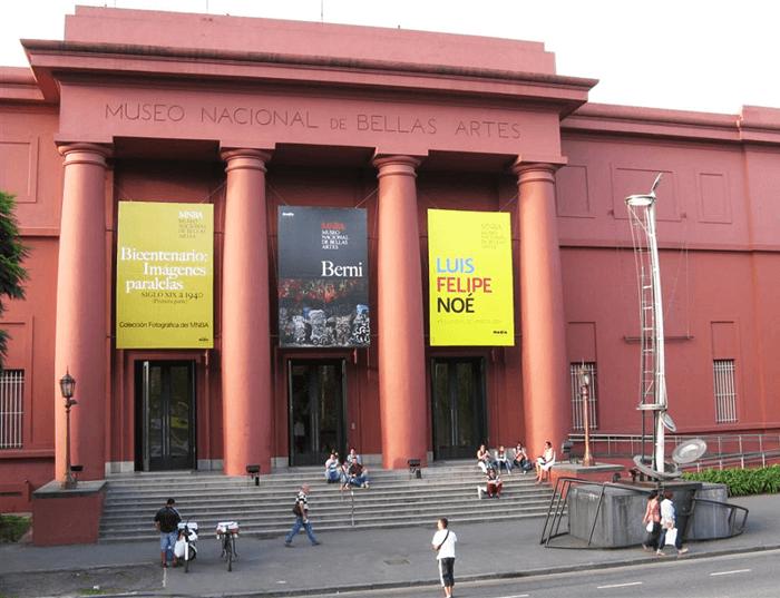 Museu Nacional em Buenos Aires