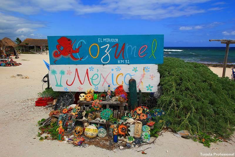 praias de Cozumel