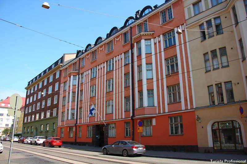 andando pelas ruas de Helsinki