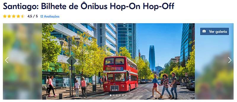 onibus turisticos em santiago - Bairros de Santiago do Chile