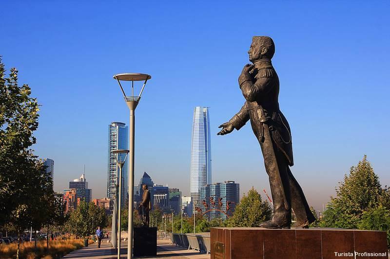 parque bicentenario sky costanera santiago - Bairros de Santiago do Chile