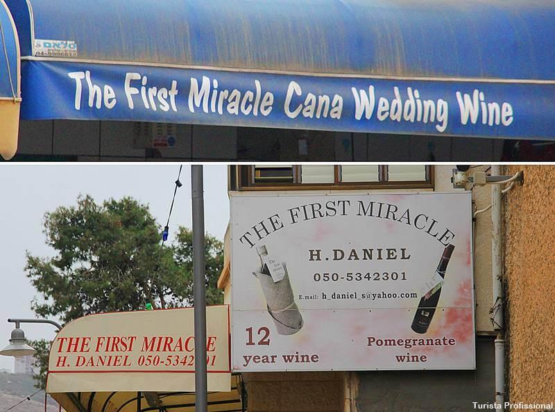 primeiro milagre de Jesus - Milagres de Jesus em Israel: roteiro de viagem