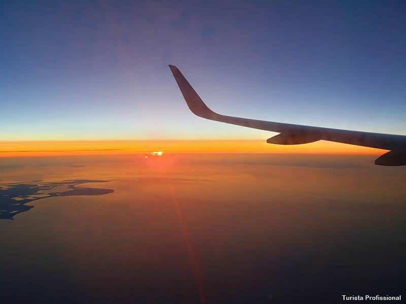 Sol da meia noite na Finlândia