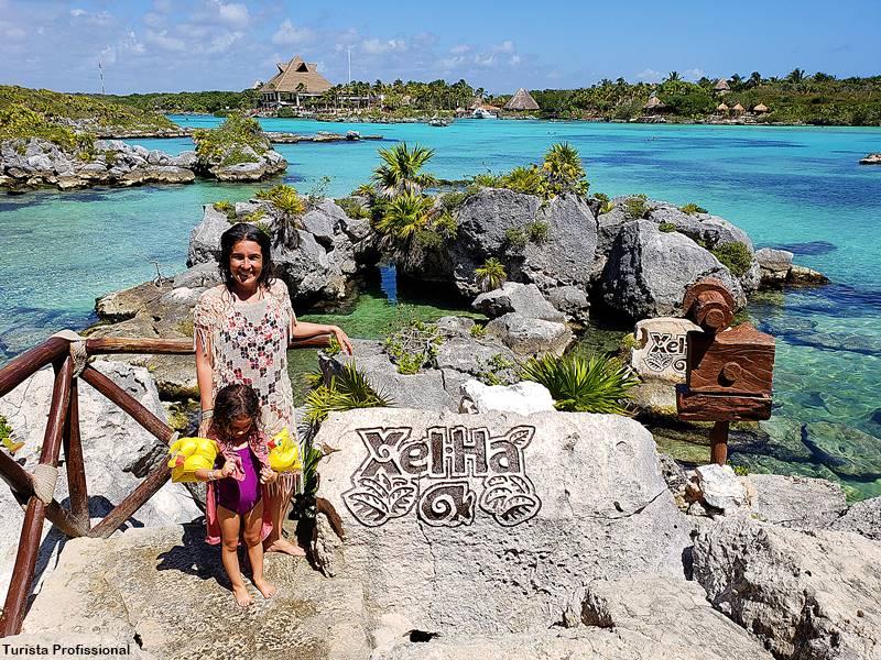 turista profissional cancun 1 - Parque Xel-Há, em Cancun