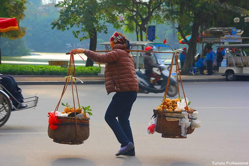 vendedores ambulantes do Vietnã