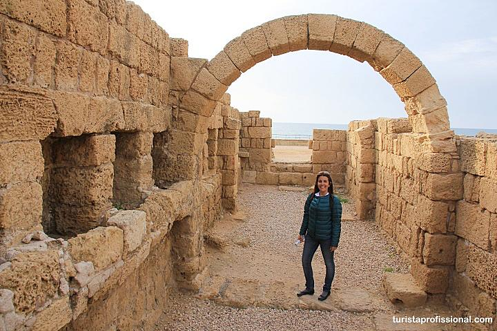 Caesarea Maritima em Israel