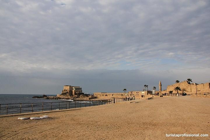 Caesarea Marítima em Israel