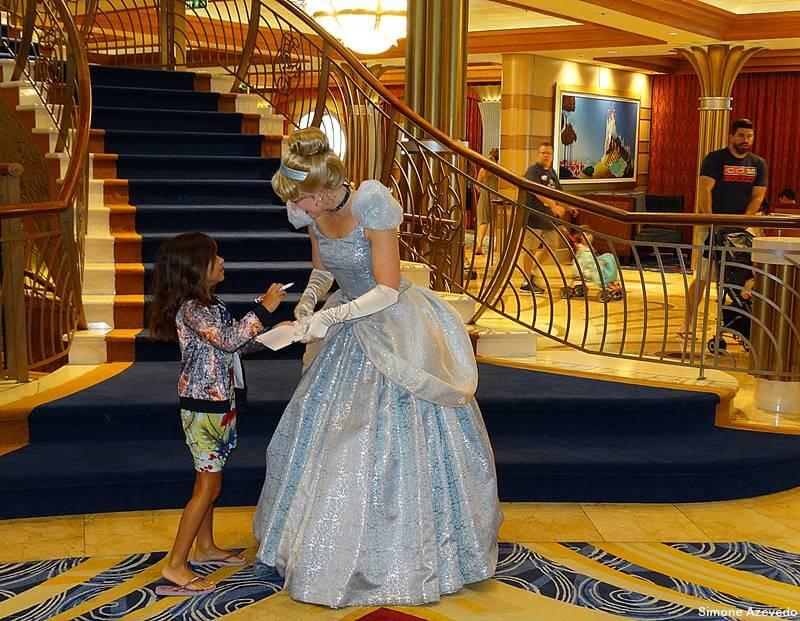 Encontro com as princesas