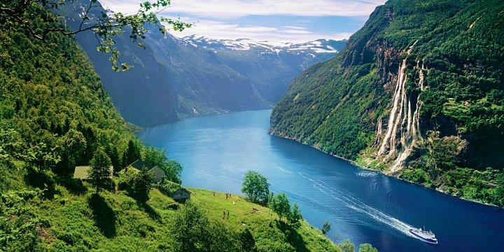 Fiorde de Geiranger na Noruega - Outono na Noruega: quando é e o que fazer?