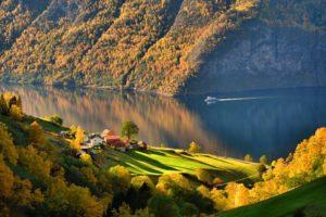 Outono na Noruega