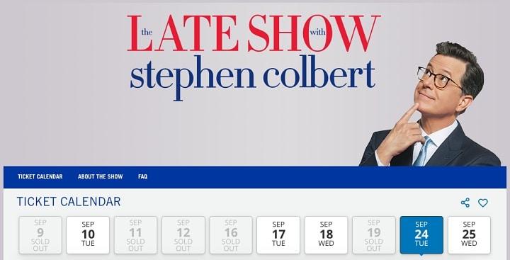 The Late Show em Nova York - Como assistir a gravação de um programa de TV em Nova York