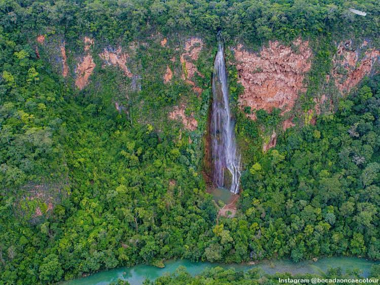 cachoeira boca onca bonito - Roteiro de 5 dias em Bonito: testado e aprovado!