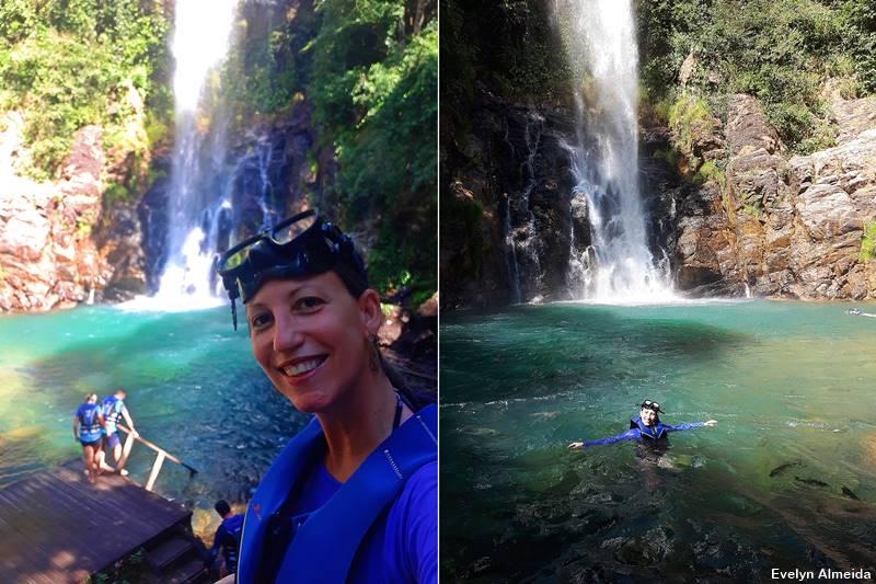 cachoeira em Nobres - Nobres ou Bonito: qual é mais bonito?
