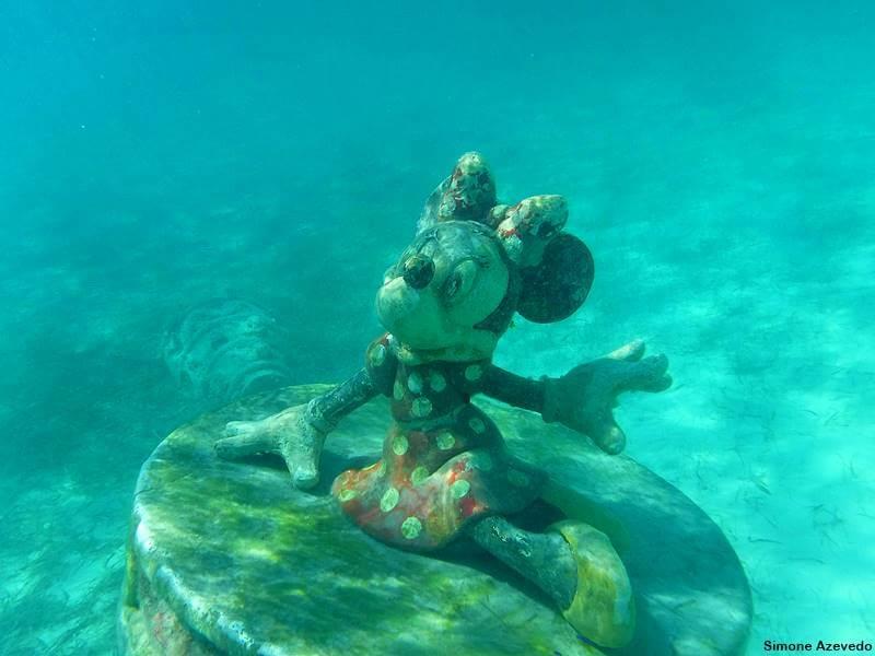 mergulho nas Bahamas