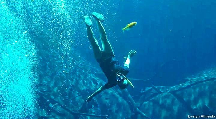 mergulho na Lagoa Misteriosa - Roteiro de 5 dias em Bonito: testado e aprovado!